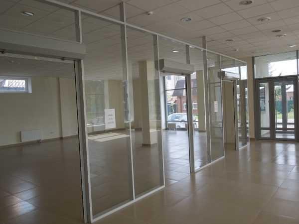 Пустое помещение в торговом центре