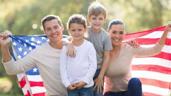 Семья в США