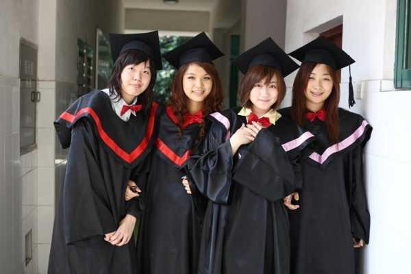 Студентки в Японии