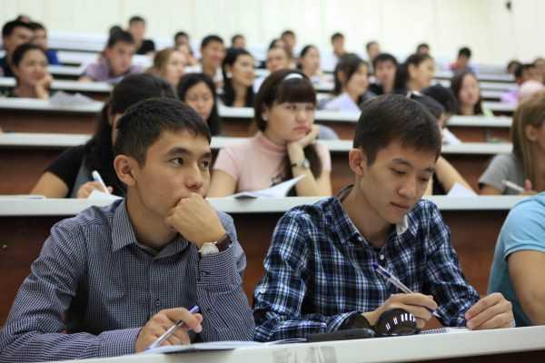 Студенты в Казахстане