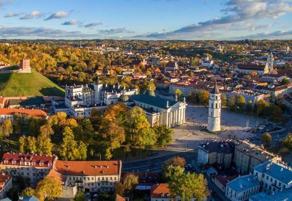 Столица Литвы — Вильнюс