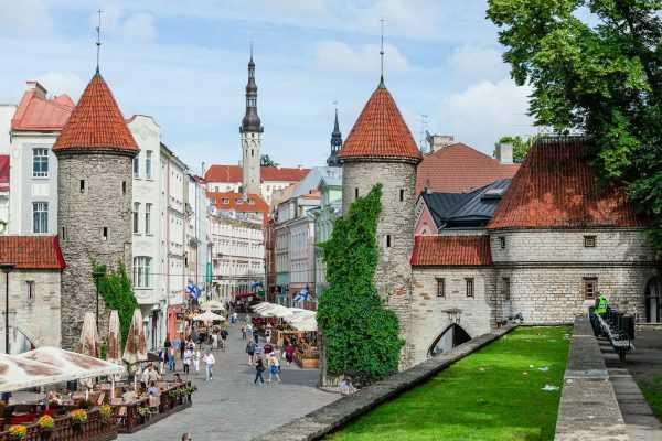 Эстонский город