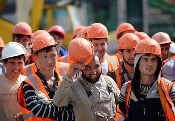 Таджикские трудовые мигранты