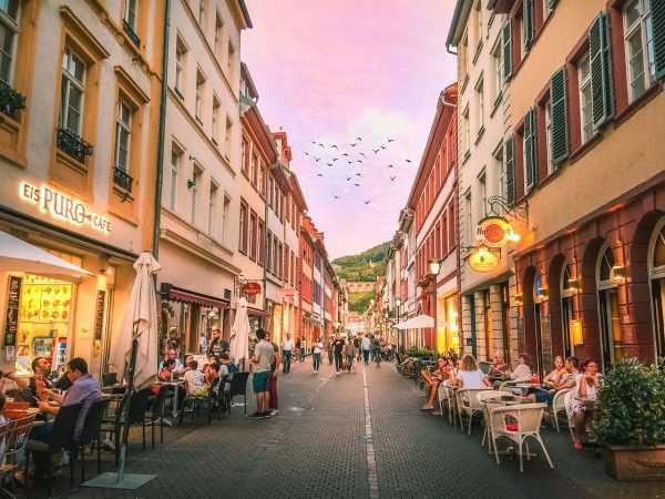 Город в Германии