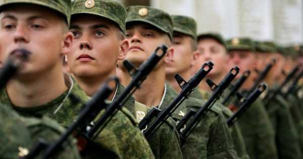 Военнослужащие срочной службы