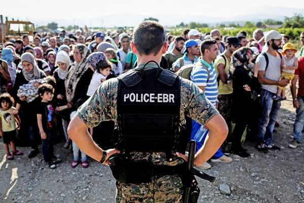 Мигранты из Сирии