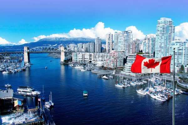 Мост в канадском городе