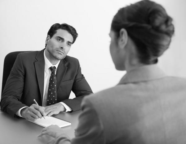 Собеседование при приёме на работу