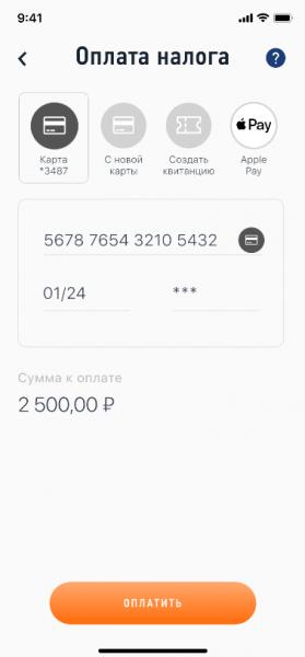 Скриншот 13 приложения «Мой налог»