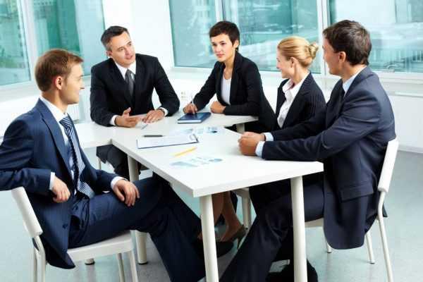 Переговоры в офисе