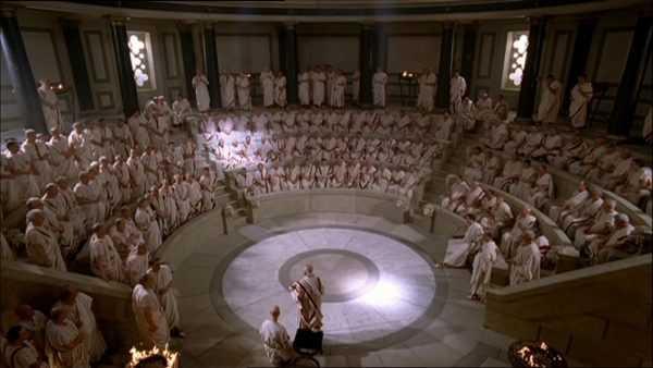 Судебный процесс в Древнем Риме