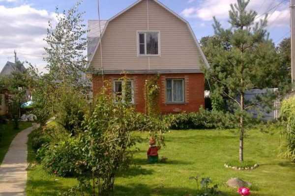 Садовый участок с домом