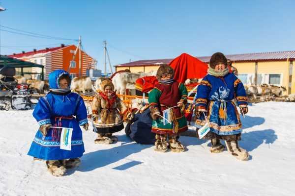 Дети на севере